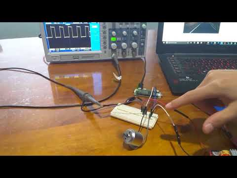 How to use PWM to control speed of a DC motor