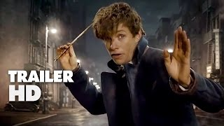 Fantastic Beasts and Where to Find Them - Official Comic-Con Trailer 2016 - Eddie Redmayne Movie HD