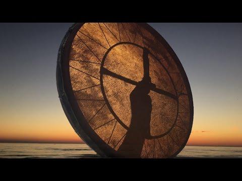 Real Shaman Healing Drum Part 1! 15 min.  shamanic journey