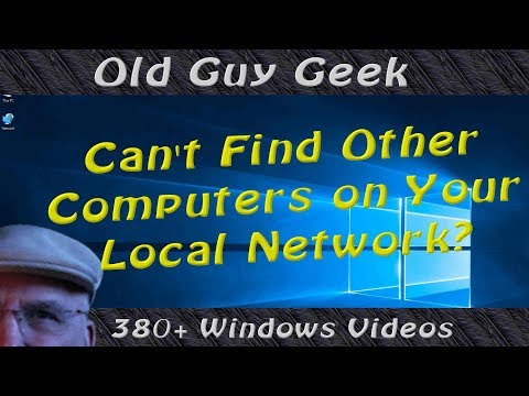 Windows 10 - Can't Find Other Computers on Your Local Network?