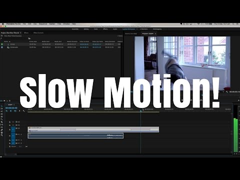 Slow Motion Tutorial! - Adobe Premiere Pro CC