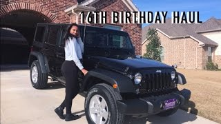 Download WHAT I GOT FOR MY 16TH BIRTHDAY Video