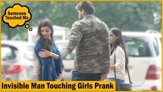 Invisible Man Touching Girls Prank - Ft. High Street Junkies   The HunGama Films