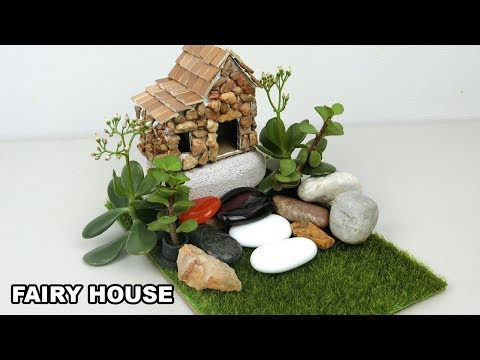 DIY Miniature Fairy House & Garden #6 | Easy Crafts ideas