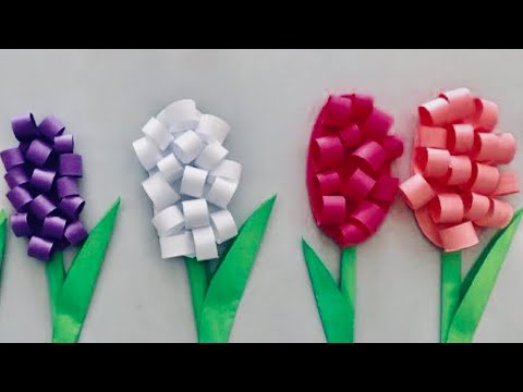 EASY PAPER CRAFT | DIY EASY CRAFT IDEA FOR KIDS  | FLOWER craft - cool and creative 137