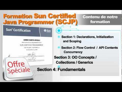 Formation Sun Certified Java Programmer (SCJP)
