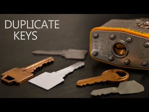How to Make a Simple Duplicate Key 🔑
