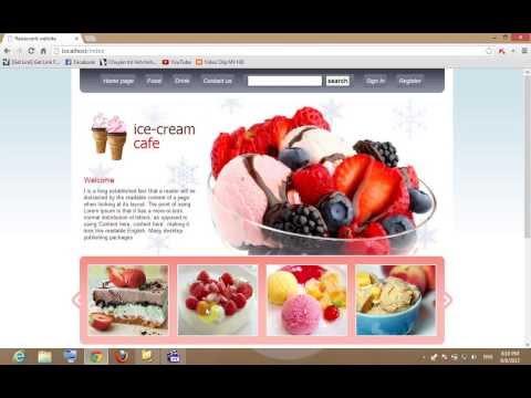 Demo website Fast Food by Zend Framework