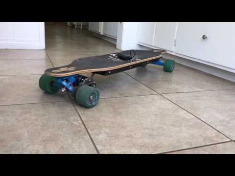 DIY Electric skateboard review (SO FAST)