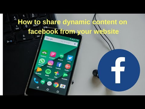 website post to facebook | How to share dynamic content on facebook from your website