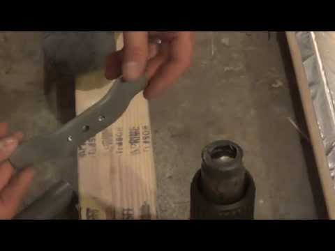 Making a PVC Bowfishing Reel Adapter