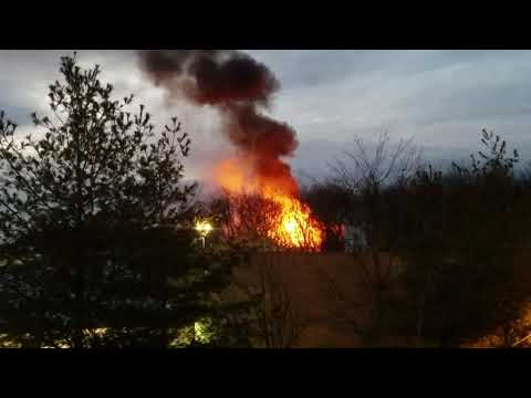 Fire at StoneWood Condominium, 100 Richards Ave., Norwalk CT