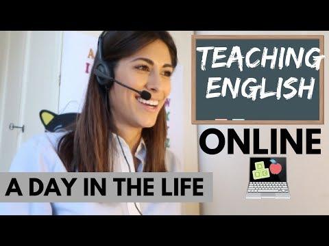 1ST DAY TEACHING ENGLISH ONLINE   VLOG (sott ita)
