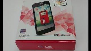 LG L70 Unboxing