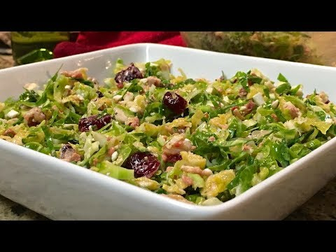 Brussels Sprouts Salad Recipe | Healthy Recipe