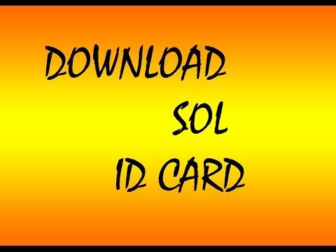 SOL ID card download