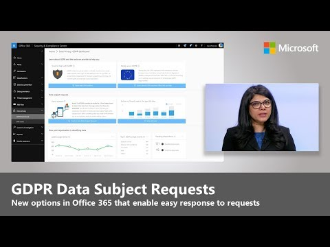 Respond to GDPR Data Subject Requests with confidence in Office 365