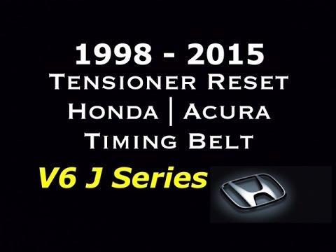 98 - 15 V6 Honda Acura Tensioner Reset Timing Belt - J Series V6 - Bundys Garage