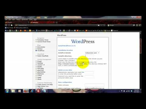 Create a professional website using WordPress Content Management System (CMS)