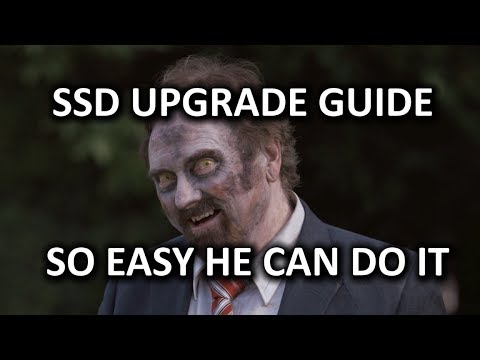 ULTIMATE SSD Upgrade Guide - So Easy a Zombie Can Do It!