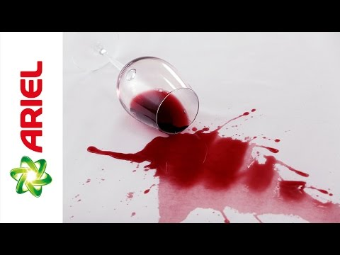 How to Remove Wine Stains When Handwashing Fabric - Ariel