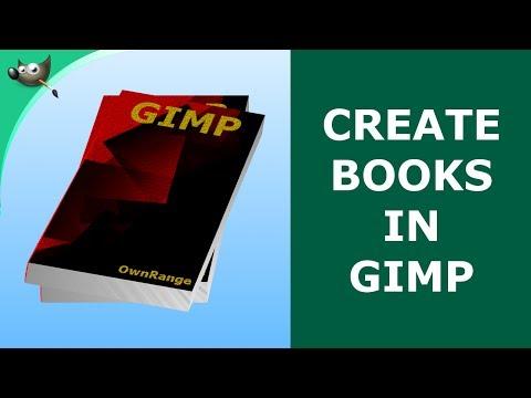 GIMP Tutorial - Create Books In GIMP