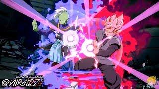GOD SLICER SCYTHE! Super Saiyan ROSE GOKU BLACK Gameplay Trailer! | Dragon Ball FighterZ | PS4,X1,PC