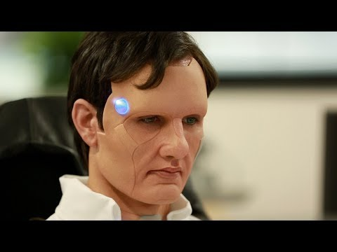 PLAYSTATION PS4 - DETROIT - Android Prosthetic Makeup Demo