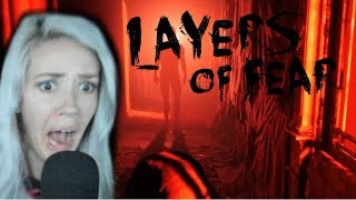 TRY NOT TO SCREAM | Layers of Fear 2 Funny Moments