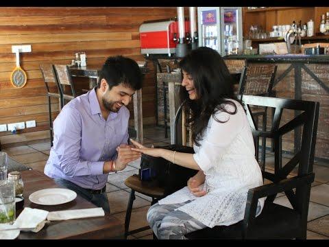 Surprise Marriage Proposal Akshay and Juhi