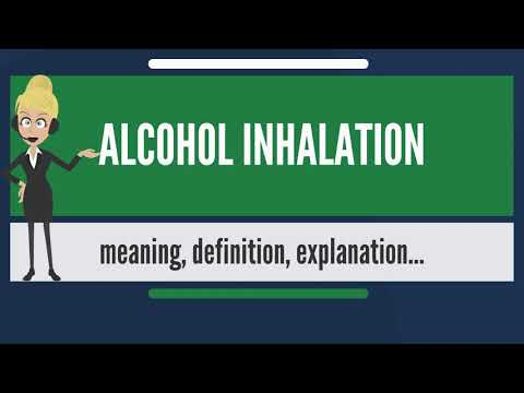 What is ALCOHOL INHALATION? What does ALCOHOL INHALATION mean? ALCOHOL INHALATION meaning