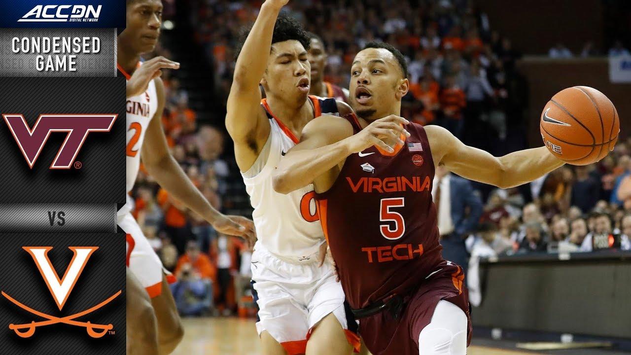 Virginia Tech vs. Virginia Condensed Game | 2018-19 ACC Basketball