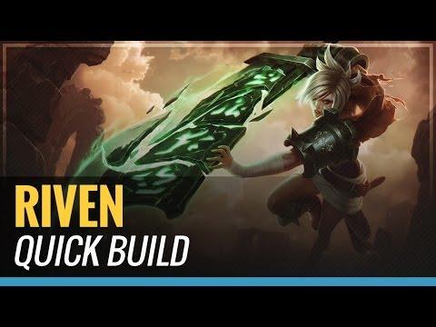 Riven - S4 Quick Build - League of Legends