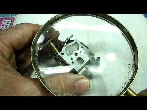 Rebuilding Walbro Carburetor