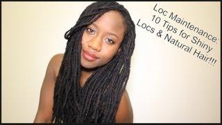 Loc Maintenance 10 Tips For Shiny Locs Natural Hair Jasmine Rose