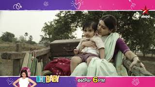 #OhBaby Today at 6 PM on @StarMaa