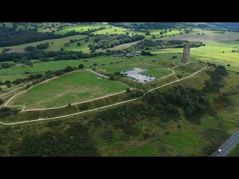 Over Castle Hill Huddersfield (DJI SPARK)