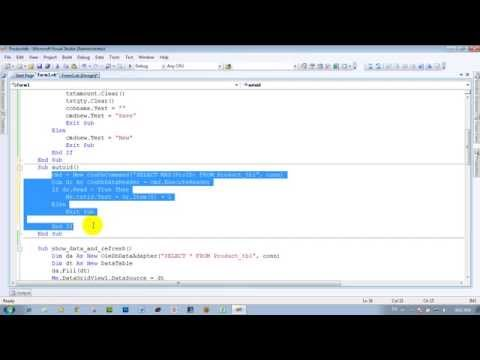 Increase ID auto with vb.net khmer code