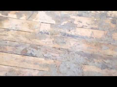 How to refinish soft pine floors without sanding