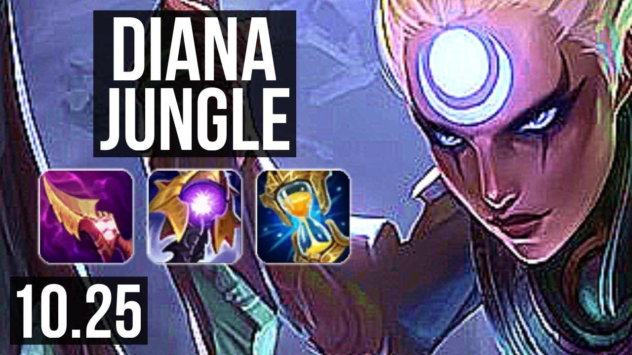 DIANA vs VI (JUNGLE) | 1.7M mastery, 11/2/7, 400+ games, Dominating | TR Diamond | v10.25