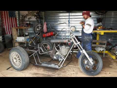 Trike  / homemade /  H A M M E R  motorcycle garage /