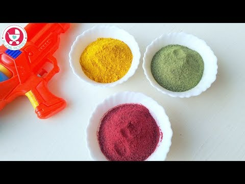 3 Ingredient Natural Holi Colors
