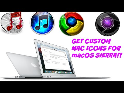 CHANGE MAC ICONS!!! macOS Sierra