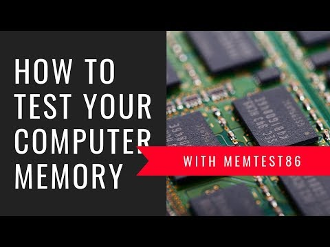 How to test your computer memory with MemTest86