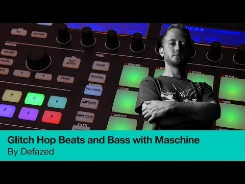 Learn to Produce Glitch Hop and serious Bass with Maschine - Trailer for Online Course