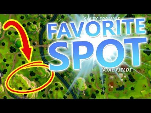 ♥ FAVORITE SPOT - Fortnite