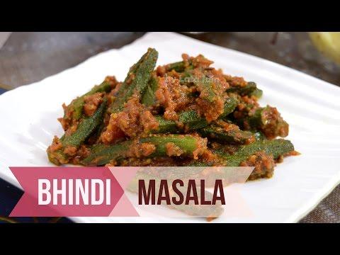 Bhindi Masala Restaurant Style by Lata's Kitchen - How to make Bhindi ki Sabzi in Hindi Recipe Video
