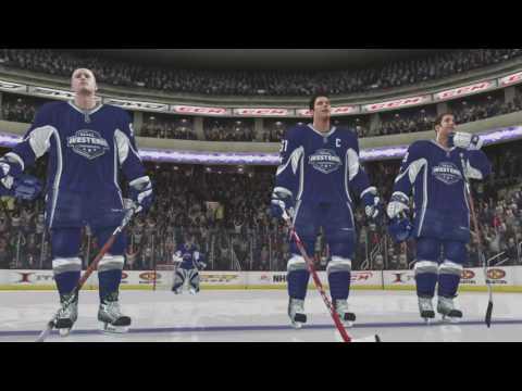 NHL 08 - SJ Sharks Season Sim & All Star Game (15-16)