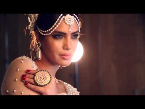 Wania's Bridals - Photoshoot with Saima Azhar - Bridal Look - BTS