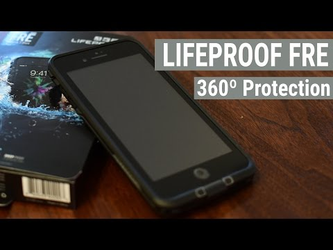 Suit Up Your iPhone 7 with the Waterproof & Dustrproof LifeProof Fre Case